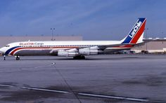 LAN Chile Cargo B707 CC-CER Lan Airlines, Cargo Airlines, Cargo Aircraft, Boeing Aircraft, Lan Chile, Event Logistics, Boeing 707, Air Charter, Vintage Airline