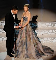 jake gyllenhaal and rachel mcadams at event of The 82nd Annual Academy Awards