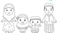 Freebies: Muslim Family