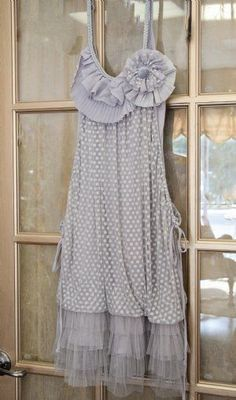 Shabby Chic Womens Dress Perfect for Shabby Chic Family Photos! - Ryu Clothing for Women - Cassie's Closet