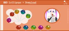 :MMD Candy: Lollipops + Download by AnastasiaAlicia