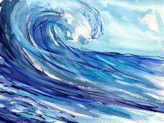 Ride the Wave Artwork: Beach Decor, Coastal Home Decor, Nautical Decor, Tropical Island Decor & Beach Cottage Furnishings