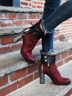 A. S. 98. Amaranto Heel Boot at Free People Clothing Boutique