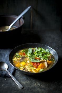 Hot & Sour Soup... Not your average vegetable soup.  | DonalSkehan.com
