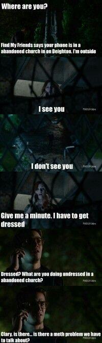 Season 1 Episode 1: Simon and Clary