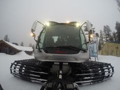 Northstar California's New Toy! These snowcats keep the your favorite ski trails in perfect condition! #snowcat