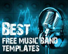 12 Best Free Music Band Templates Beautiful Life