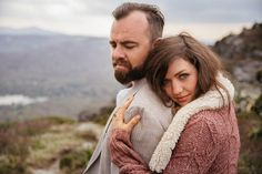 Phil and Laura Engagement Photography Grandfather Mountain by Rivkah | Fine Art Photography