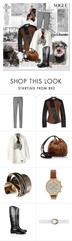 """Winter"" by helleka ❤ liked on Polyvore featuring Prada, Zimmermann, Sandwich, 3.1 Phillip Lim, The Dress & Co, Marc by Marc Jacobs, Nina Peter, Vionnet, Olivia Burton and Jil Sander"