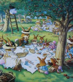 Loïc Jouannigot Fantasy Paintings, Animal Paintings, Susan Wheeler, Bunny Painting, Rabbit Art, Bunny Art, Fairytale Art, Watercolor Animals, Children's Book Illustration