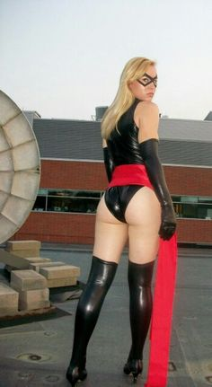 Note: Post more pics of HOT Superhero chicks to keep this thread alive. Yellow Pages, Marvel Comics, Ms Marvel, Marvel Cosplay, Pictures Images, Cosplay Girls, Avengers, Stockings, Booty