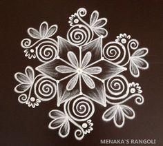 Rangoli Side Designs, Simple Rangoli Border Designs, Rangoli Designs Latest, Free Hand Rangoli Design, Small Rangoli Design, Rangoli Designs Diwali, Rangoli Designs With Dots, Small Free Hand Rangoli, Best Rangoli Images