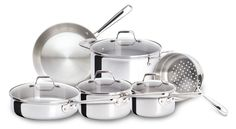 what cookware should I use? I suggest using glass bakeware and stainless steel or cast iron pots and pans. Stainless steel and glass mixing bowls are great too.