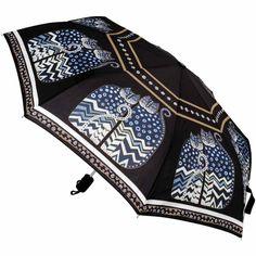 "Laurel Burch Compact Umbrella 42"" Canopy Auto Open"