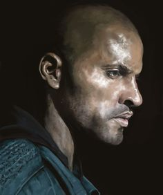 Lincoln (Ricky Whittle) of The 100 by 1milly2.deviantart.com on @DeviantArt