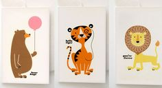 tataratata.... a group of happy bears, tigers and lions just arrived from Australia by mitchel