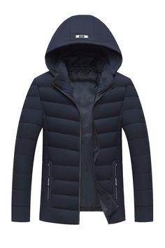 Jacket <b>Men Winter Autumn</b> Velvet Stand Collar Wadded Thicken ...