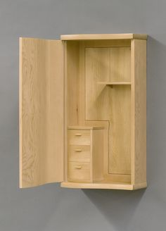 Wall Cabinet....HOW COOL IS THIS.....WOULD  LOVE TO HAVE ONE JUST LIKE IT.....JUST BECAUSE