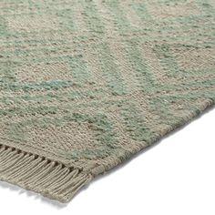 Esprit simple rugs 7012 02 green buy online from the rug seller uk