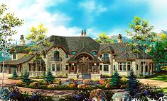 dream home from builder found at Parade of Homes. fun and slightly unrealistic, but that's the fun part!