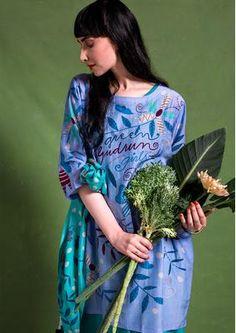 """Kleid """"Girls"""" aus Baumwolle/Seide 71710-51.tif"""