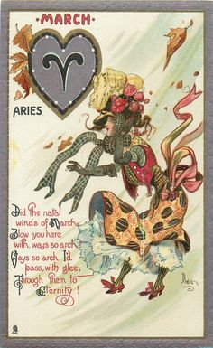 I'm an Aries, but born in April