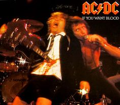 "AC/DC IF YOU WANT BLOOD YOU'VE GOT IT 12"" LP VINYL"