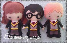 Felt Harry Potter Characters Baby's Room by mywonderfelt on Etsy