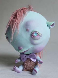 <3!  Infantile Monster Sculptures : Lydia Dekker Horrible Sweet