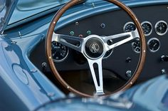 Shelby AC Cobra Steering Wheel Photograph