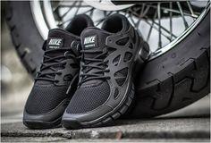 Nike Free Run 2 Triple Black