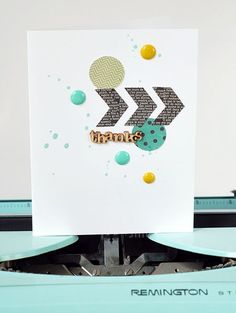 Use Those Scraps to Make Cards