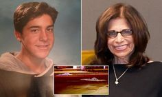 GRAPHIC CONTENT WARNING: Derek Ward, 35, decapitated his mother, Patricia, 66, on Tuesday before kicking her head in the residential street, in Farmingdale, New York.
