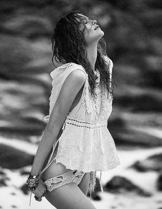 Behati Prinsloo by Greg Kadel Behati Prinsloo for Vogue Spain