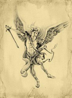 Archangel michael archangel michael tattoo design more tattoo design