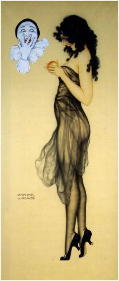 "Raphael Kirchner -  (SEE MORE LIKE THIS ON MY ""DECO DARLINGS"" BOARD)"