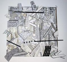 """Saatchi Online Artist Hanna Ten Doornkaat; Assemblage / Collage, """"Apocalypse (2)"""" #art"""