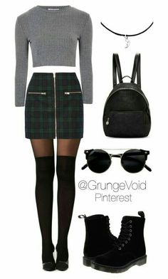 rock grunge outfits