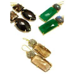 Taara Jewelry Rania Earrings ($200) ❤ liked on Polyvore featuring jewelry, earrings, multicolour, earrings jewellery, multi colored jewelry, multi colored earrings, gold plated earrings and multicolor earrings