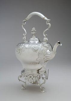 Tea Kettle on Stand Herbst & Wassall 1920-30