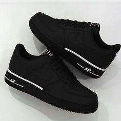 Rate Nike air force one black and white 1-10   Follow  hypedstreat Black ·  Black Shoes ... 8c65a53a6