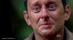 Ben Linus (starring ?) on Lost, male actor, brilliant, creepy character, portrait, photo