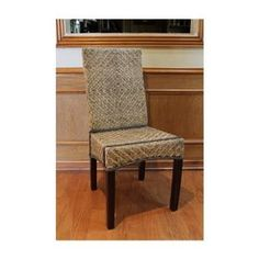 Joseph Split Rattan Dining Chairs - Set of 2