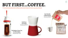Promotional Product: Coffee Press, Pour over Coffee #CoffeePress