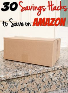 30 Easy Money Savings Hacks to save on Amazon - Love shopping Amazon? Check out these 30 Savings Hacks I bet you didn't know!!