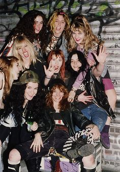 L7 with the Lunachicks by Jennifer Precious Finch, via Flickr