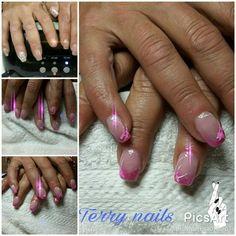 reetoedit Terry nails#refil#gel#baby #rosa#fuxcia#nailart ##bianco#sugar#