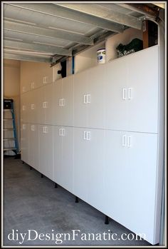 diy Design Fanatic: Garage Organization and Storage