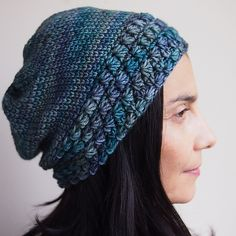 7d3200fd6ee Star stitch slouchy hat with knit look pattern by Accessorise