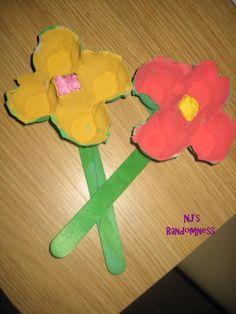 Spring craft for preschool